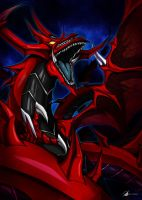 Commission: Slifer The Sky Dragon by Osmar-Shotgun