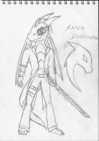 Karia Shadowfire Anthro Concept 1 by Shadowpredator100
