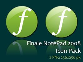 Finale NotePad 2008 Icon Pack by sonnysavage