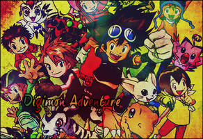 Digimon adventure + by MissPink95