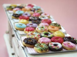 Sweet Donuts by PetitPlat