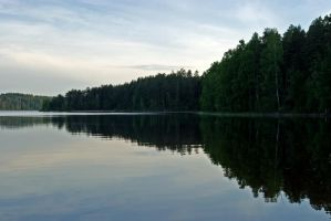 Saimaa Reflects by wolfheart83