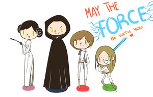 May the Force Be With You by kawaiiti