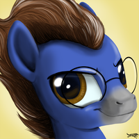 Commission-Ennex Portrait by LostInTheTrees