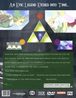 The Legend of Zelda: The Animated Series DVD back by Steamland