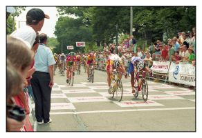 Wendy's/Saturn Criterium. 6 of 6, with story by harrietsfriend