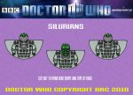 Doctor Who -Silurians by mikedaws