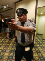 Anime Los Angeles 2015 Resident Evil hands up! by Demon-Lord-Cosplay