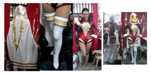 Mary Marvel Ame-Comi  cosplay Process by LeslieSalas