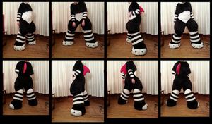 Scritch Bodysuit - Modeled by Me by CuriousCreatures