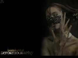 'deformography' wallpaper by scarypaper