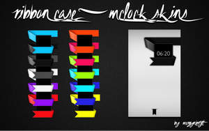 Ribbon Case mClock Set by morgynbrytt