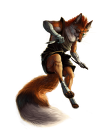Foxy Assassin by rajewel