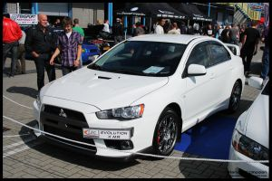 2010 Lancer Evo X by compaan-art