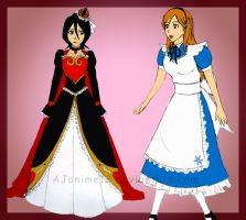 Bleach: Rukia and Orihime by AJanime12