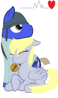 Soldier X Derpy; Crime and Punishment by icefir