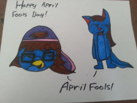 Happy April Fools Day! by TheAngryBirdGirl