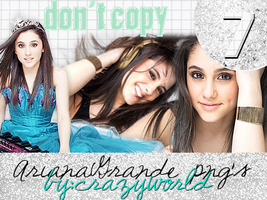 Ariana Grande PNG pack by christinadream