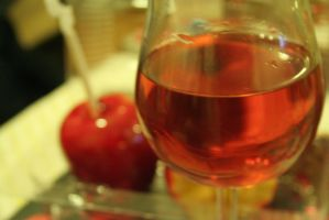 candy apples and red wine by adolina