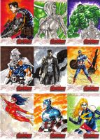 Sketchcards by orphanshadow