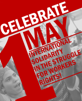 May Day Poster 2014 by Party9999999