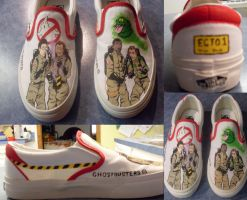 Ghostbuster Shoes by heavensong