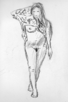 Undressing figure by ChozoBoy