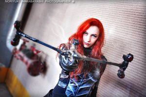 G.I. Joe - Scarlett cosplay 16 by ShadeNinja
