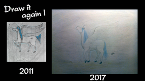 Draw it again ! - Lune, 6 years later by Fleepeur