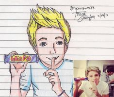 My Drawing of Nialler by TracyPalafox