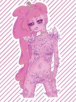 Rock Candy - Princess Bubblegum by SugarSugarHyperLolly