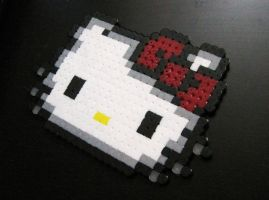 Hello Kitty Perler Style by Melon-love