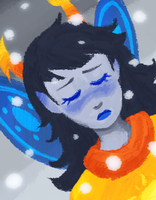 God Tier Vriska by Kayotics