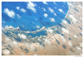 African coast - top view by bymano