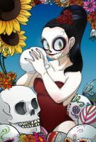 Day of the Dead by rotten-orange