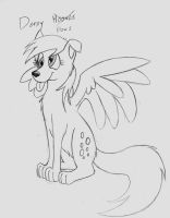 My Little Wolfies Derpy Paws? by Cane-McKeyton