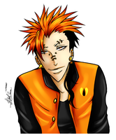 Human Orange -Collab- by AnimeNeko123