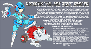 Rockman the Last Robot Master by Tyrranux