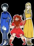 Ankh Morpork City Watch Magical Girls by pastelsl0th