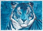 .Blue Tiger. by CheshireSmile