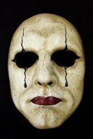 Pierrot Mask by Faust-and-Company