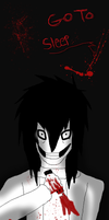 Jeff the killer bookmark by shadowwolf133