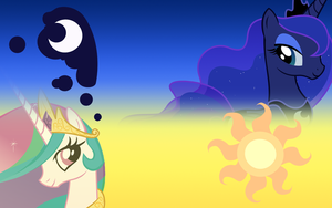 Sun and Moon Remake by iampinkiepie