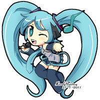 Miku Hatsune Love by lovelyfantasy