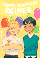 HAPPY BIRTHDAY REINER by star-firework