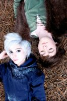Jack Frost x Hiccup by StevieLeexox