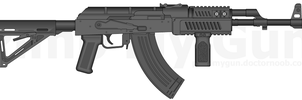 Contractor styled AK-47 by brennenp
