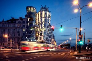 Prague - Dancing house I by olideb08