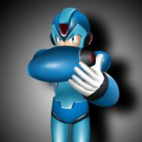 Megaman spotlight by DragonLord720