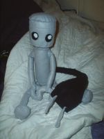 Chibi Robo Plushie Second Try by LaSpliten
